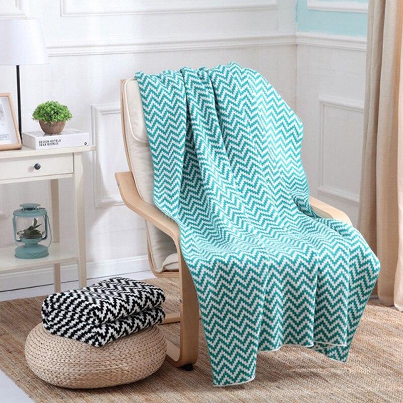 ФОТО Free Shipping Diamond Gometry Knitted Blanket Children Spring Summer Autumn Plaid Blanket 130*170