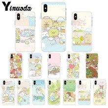Yinuoda sumikko gurashi Rilakkuma DIY Printing Drawing Phone Case cover Shell for iPhone X XS MAX 6 6S 7 7plus 8 8Plus 5 5S XR
