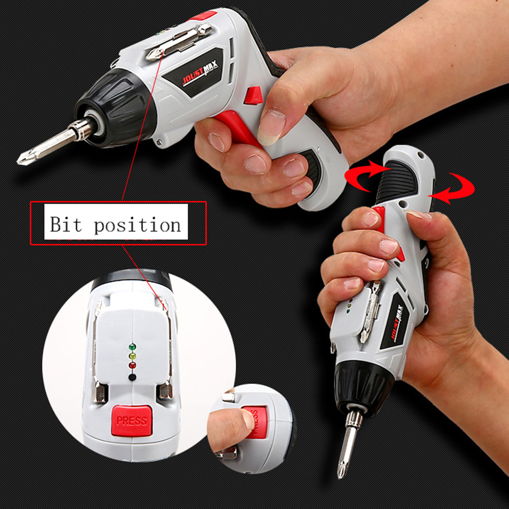 4.8v cordless battery rechargeable copper electric screwdriver dremel LED light DIY Electric Drill bit Power Tools free shipping brand proskit upt 32007d frequency modulated electric screwdriver 2 electric screwdriver bit 900 1300rpm tools