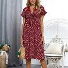 Women summer dress S...