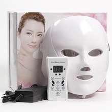7 Color LED Mask Facial Therapy Anti-Wrinkle Machine Acne Removal Beauty Spa Device Skin Rejuvenation White Face Masker