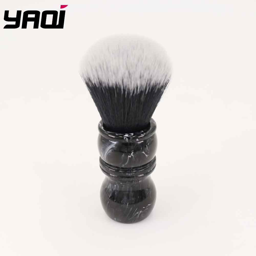 Yaqi Defect Handle Special Offer Shaving Brush With Tuxedo Synthetic Hair Knot
