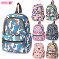 2016 High Quality Waterproof Nylon Small Cute Cartoon Camouflage Kindergarten School Bags Backpack For Kids Children Boys Girls