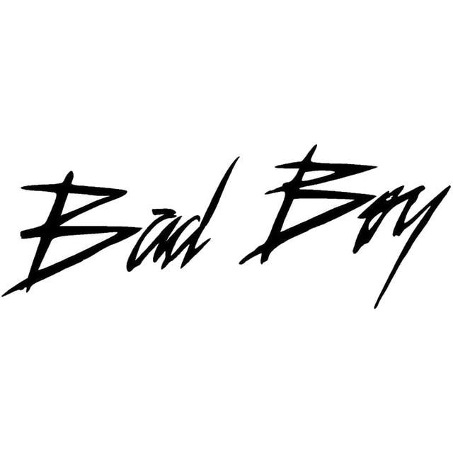 22.4*8.4CM BAD BOY Art Font Words Fashion Car Styling