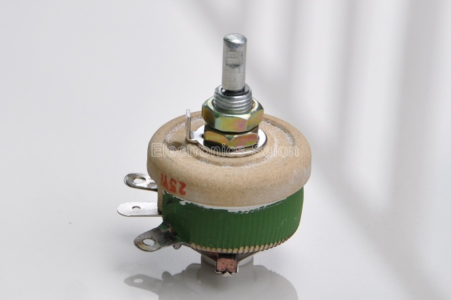 Image 4 - 25W 1K OHM High Power Wirewound Potentiometer, Rheostat, Variable Resistor, 25 Watts.variable resistorwirewound potentiometerpower potentiometer -
