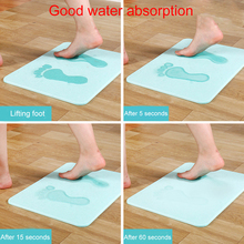 Newly Bathroom Bath Shower Mat Non Slip Mat with Diatomaceous Earth Antibacterial Super Absorbent  TE889 pebble series flannel printing home anti slip absorbent entry mat bathroom mat door mat bedside mat