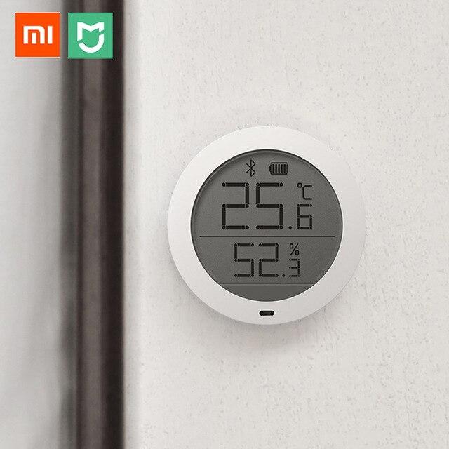 Termómetro higrómetro Bluetooth Xiaomi Mijia termómetro higrómetro de alta sensibilidad pantalla LCD Sensor de humedad de temperatura para el Hogar Inteligente