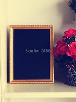 43 63cm Free Shipping Blackboard With Photo Frame Wooden Chalkboards Christmas Gift 2014 New Arrival