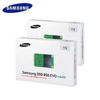 Samsung SSD 850 EVO Interna mSATA SATA III 250 GB 500 GB 1 T HD Disco Duro de Estado sólido de Alta velocidad para el Ordenador Portátil PC de la Computadora escritorio