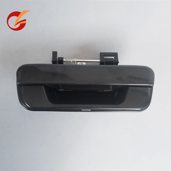 use for ISUZU pickup d-max Rodeo 2002-2011 model chevy pickup Colorado 2004-2011 model back door handle black image