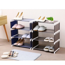 Home Shoe Racks Organizer Multiple Layers Shoes Shelf Stand Holder Door Shoe Rack Save Space Home Wardrobe Storage eight layers metal non woven cloth simple shoe rack space saver diy shoes shelf shoes storage shelves organizer home furniture