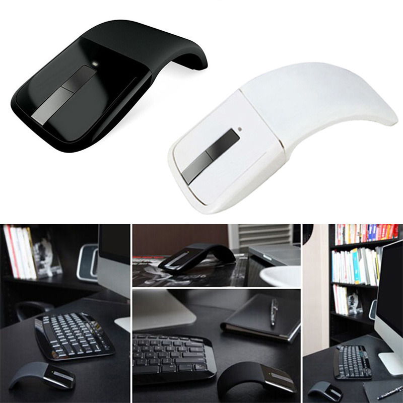 2.4GHz Folding Wireless Mouse With USB Receiver Bendable Optical Mice For Computer PC Laptop S288