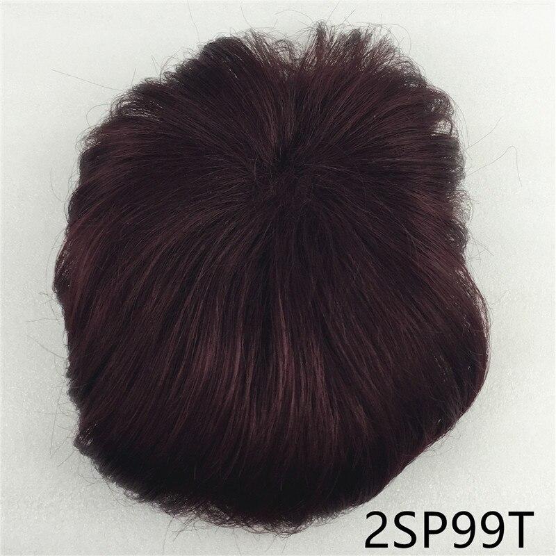 Сильная красота парик синтетические волосы парик выпадение волос топ кусок парики 36 цветов на выбор - Цвет: Красный