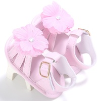 2017 Cute Newborn Kids Baby Girls Leather Sandals  ...