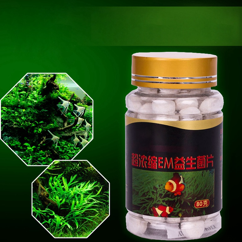 80g 150pcs Aquarium Nitrifying Bacteria Capsule Aquarium Probiotics Digestion Pill For Fresh Water Cleaning Fish Tank Seawater