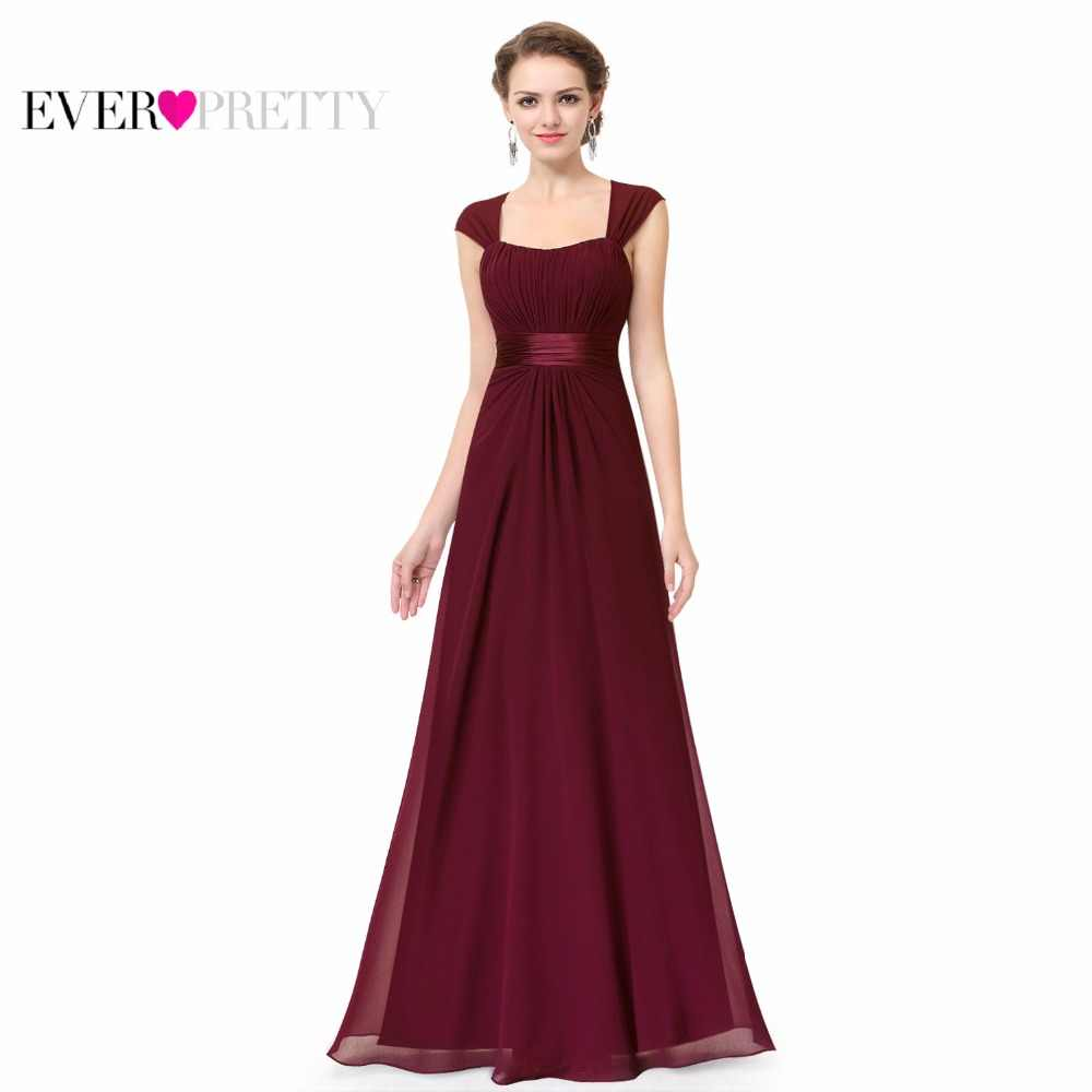 ... Long Simple Bridesmaid Dresses 2018 New Arrival Ever Pretty EP08834 Long  Chiffon Cheap Wedding Party Dresses ... 0b32c9b64d51