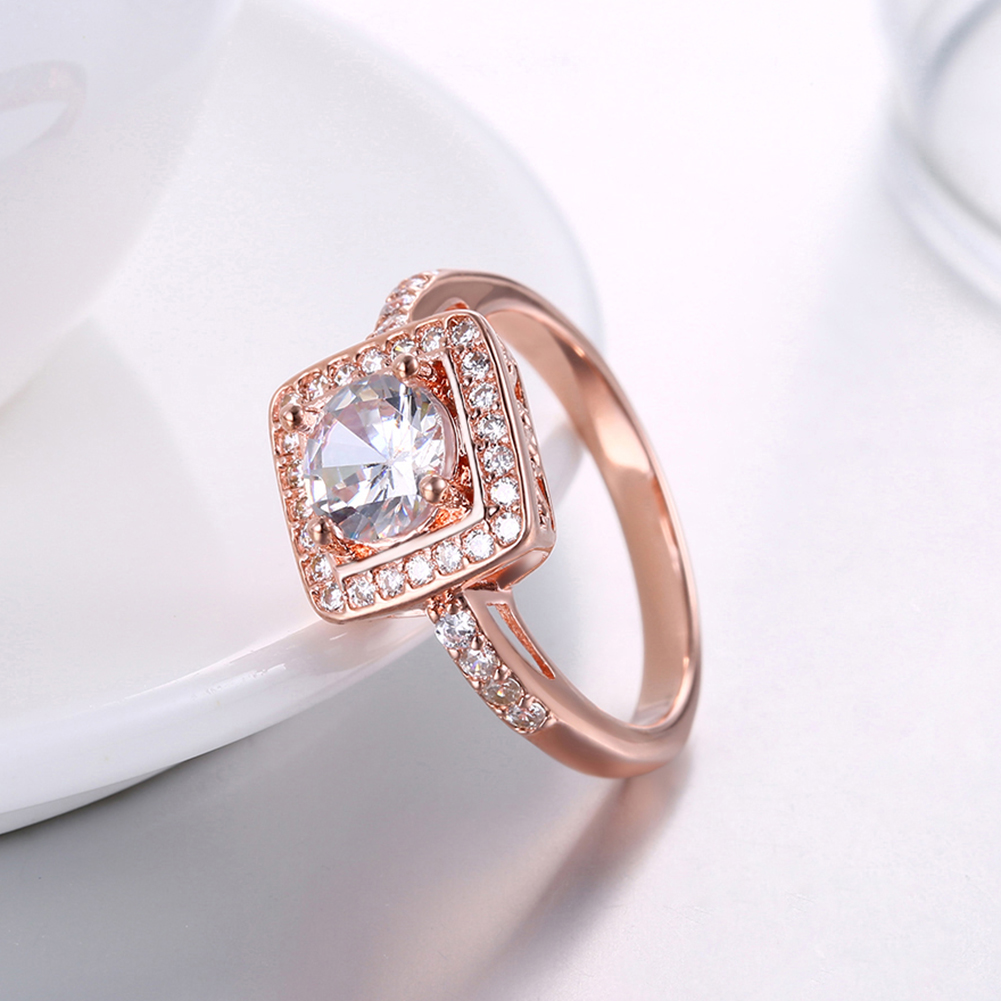 women in square jewelry accessories inalis wedding item inlaid flat rings rose trend from fashion for on color gold zircon small