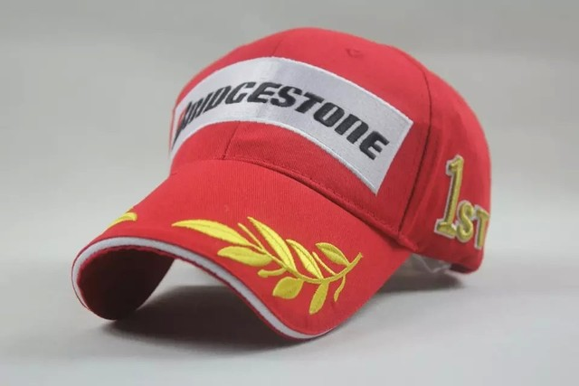 Red Bridgestone hat cap MOTO GP Motorcycle hat cap F1 sport Kawasaki baseball  cap snapbacks VW baseball cap F1 Racing Audi hat 9d12d46cbcb