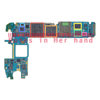 Full Working Original Unlocked For Samsung Galaxy S6 G920F Motherboard Logic Mother Circuit Board Lovain Plate