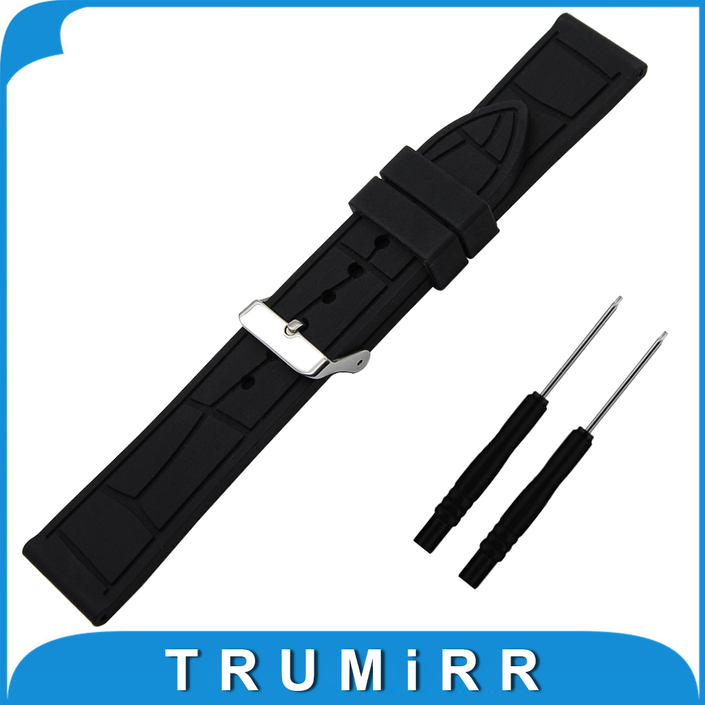 26mm Silicone Rubber Watch Band +Tool for Garmin Fenix 3 / HR 5X Replacement Watchband Steel Buckle Strap Wrist Belt Bracelet canvas nylon watchband tool for garmin fenix 5 forerunner 935 fr935 leather watch band sports strap steel buckle bracelet