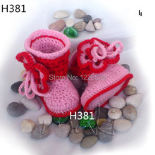 Baby crochet shoes knit boots crochet baby booties (0-12) M toddler shoes winter snow boots multi colors choose colors and sizes
