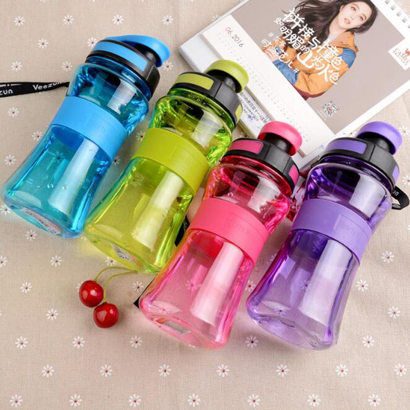 Brand New BPA Free Leak Proof Sports Water Bottle High Quality Tour Hiking Portable My Favorite Bottles 550ml