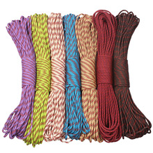 CAMPINGSKY Paracord 4mm 100ft 550 Paracord Parachute Cord Koord Touw voor Wandelen Camping
