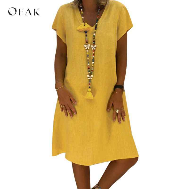 b3ddabfb18 Detail Feedback Questions about OEAK 2018 Summer Bohemian Dress ...