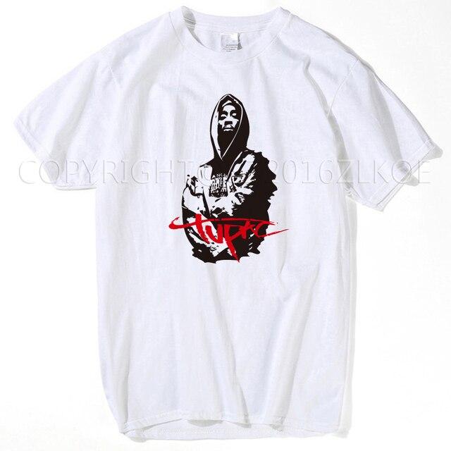 e993011b3 2pac t shirt Makaveli tupac T Shirts rapper Snoop Dogg Biggie Smalls The  Game eminem J Cole jay-z Savage hip hop rap music Tops