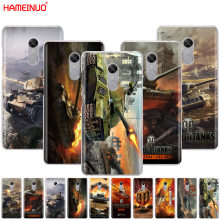 HAMEINUO world of tanks чехол для телефона Xiaomi redmi 5 4 1s 2 3 3s pro PLUS redmi note 4 4X 4A 5A(China)