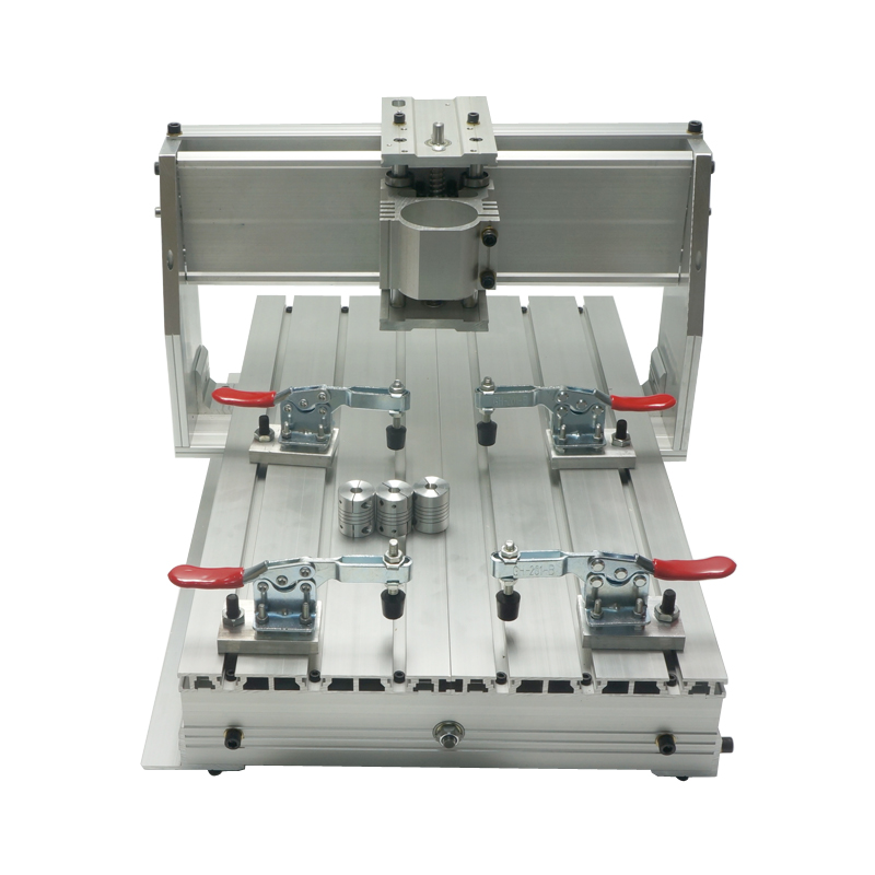 High-quality CNC Frame 3040 Z-DQ Ball Screw Engraving Router Frame of Engraver Wood Drilling Milling Machine european quality jinan acctek high quality 4 axis cnc engraver wood router