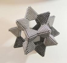 3 мм 216 Шт. Пазлы Магнитные Magic Cube Нео Куб Магнитные Шарики 6x6x6 Обучающие Игрушки Подарок для Ребенок Малыш