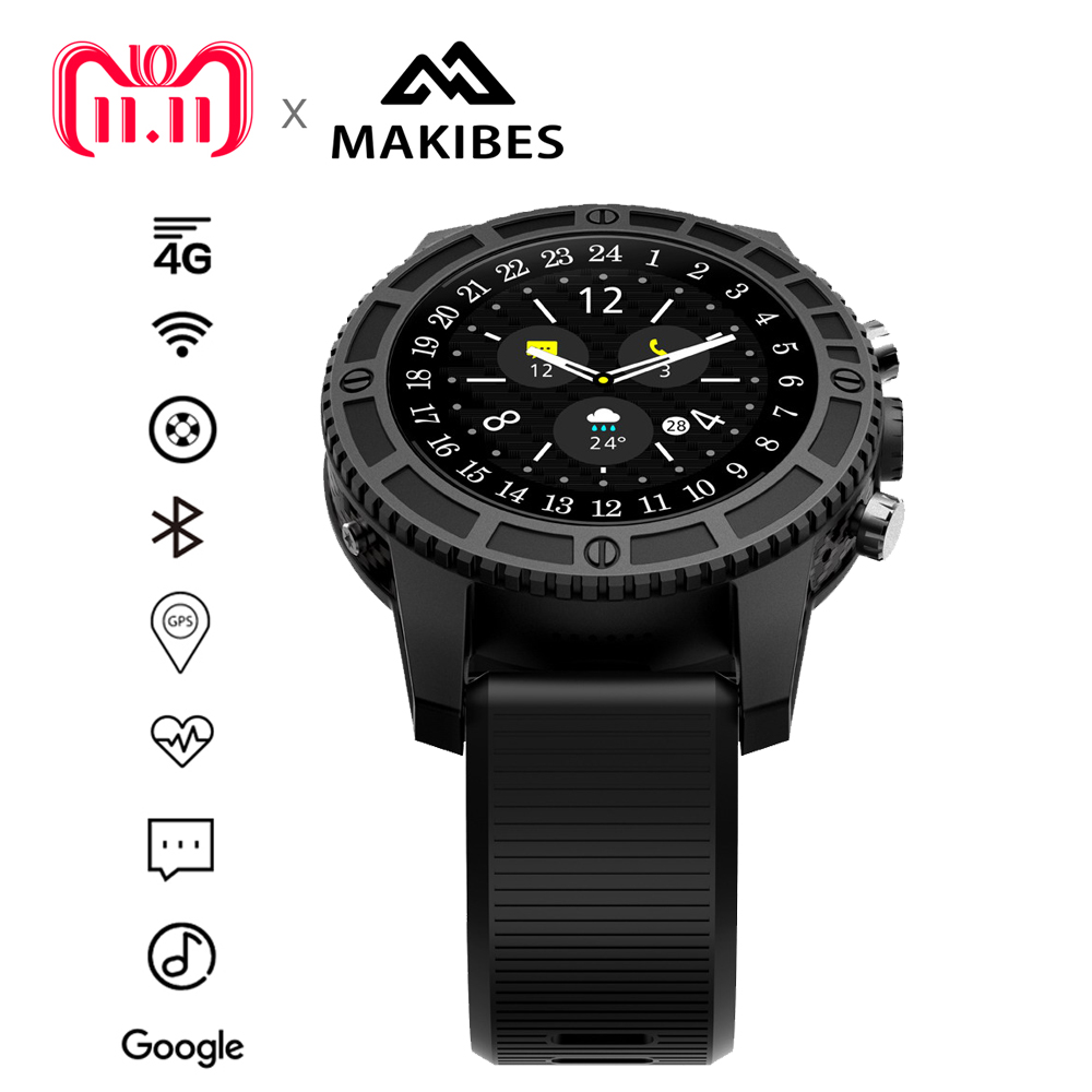 11.11 Pre-Order In stock MK01 Smart Sport watch WIFI 4G GPS Heart Rate Bluetooth Quad Core Google Maps I7 for Watches Phone цена