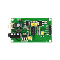 DC USB 5V PCM5122 I2S IIS Raspberry Pi Digital Audio Input DAC Decoder Board to AUX Analog Output For HIFI Amplifier