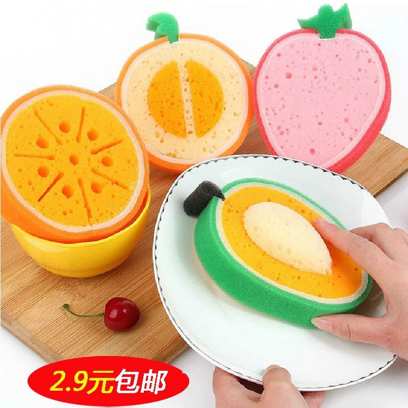губка для посуды Фрукты доставка из Китая