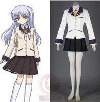 Anioł (Tachibana Kanade) Cosply Kostium z Angel Beats! Anime