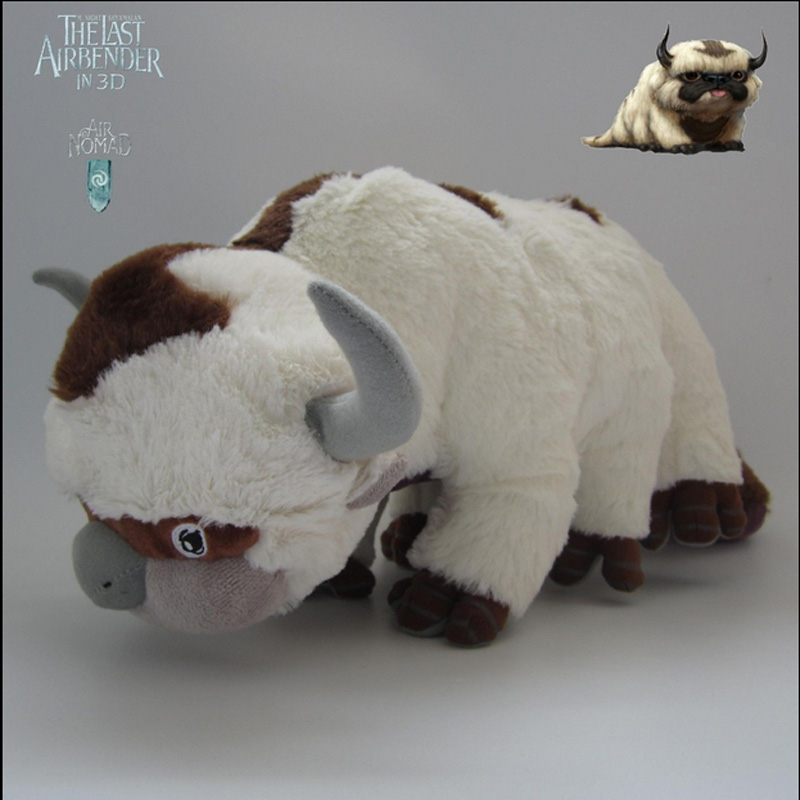 New <font><b>AVATAR</b></font> <font><b>Last</b></font> <font><b>Airbender</b></font> APPA Stuffed Plush Doll Large Soft Toy 20 inch RARE peluche minion image