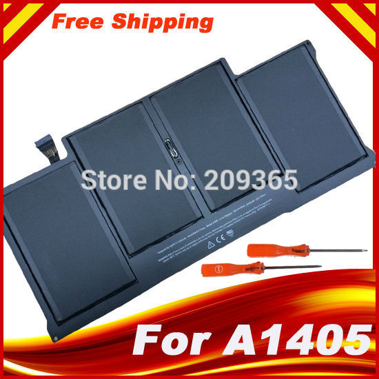 "Special Price Original Genuine Battery A1405 For MacBook Air 13"" A1369 year 2011 & A1466, package with gift screwdrivers"