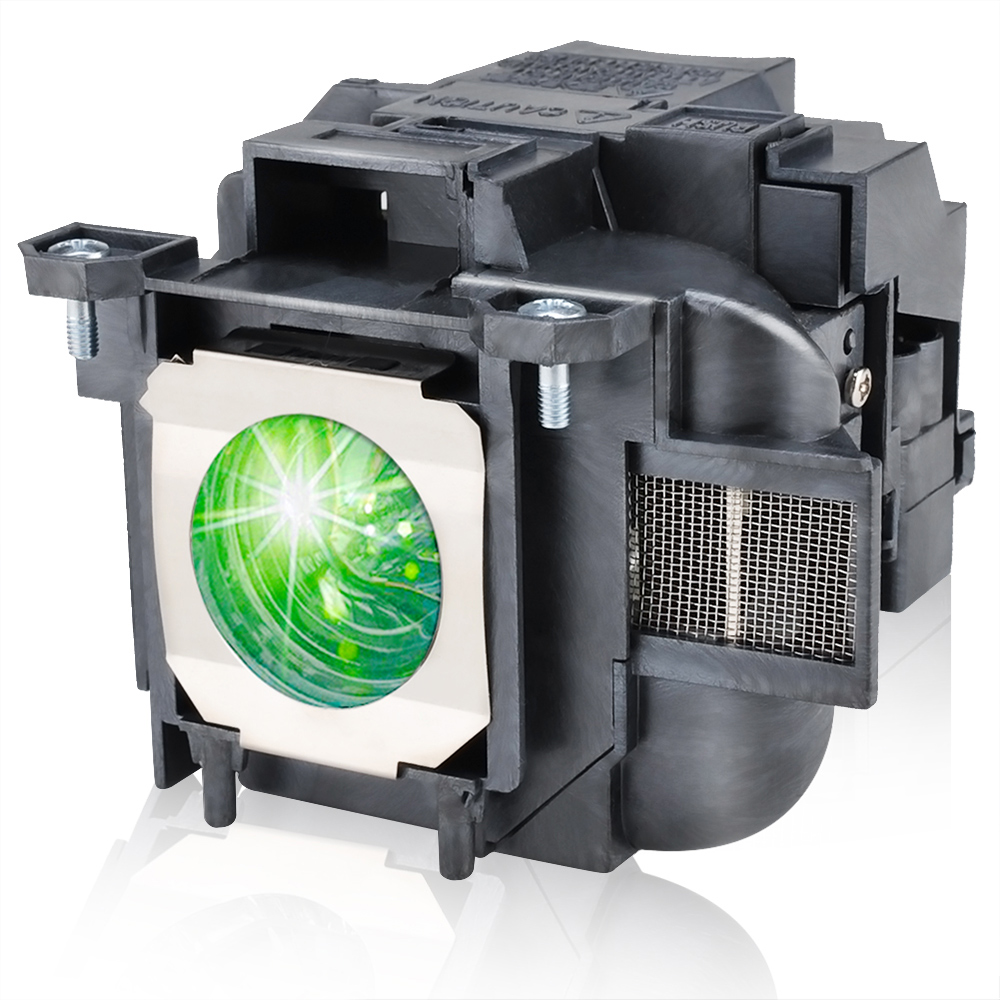 HAPPYBATE ELPLP78 Compatible Projector Lamp With Housing For EB-X20 EB-X18 EB-X120 EB-X03 EB-W28 EB-W22 EB-W18 EB-W120 EB-W03