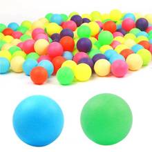 Профессиональные мячи, смешанные цвета, мячи для пинг-понга, подарки для тренировок, развлечения, разные цвета, 40 мм
