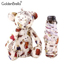 Toys Little Pocket-Umbrella Folding Rain Creative Small Kids Children Women Brand New
