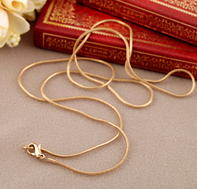 Fashion accessories all-match chain women's design long necklace Factory Wholesa