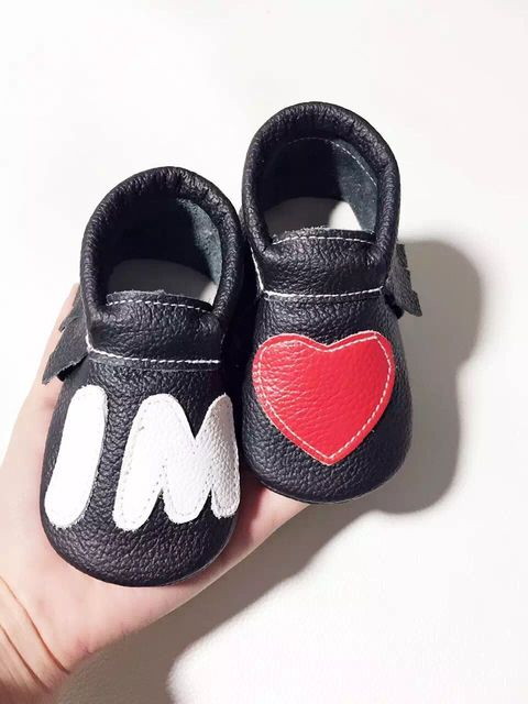 Wholesale New top quality Tassel Genuine Leather Heart Baby Girl Moccasins Lot Princess Soft Sole Shoes First Walkers 3colors