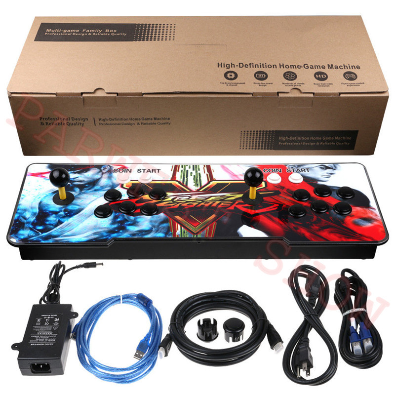 Pandora Box 9d 2500 In 1 PCB Game Board Arcade Game Console 2500 Games With Sanwa Joystick For 2 Player Home Fighting Machine