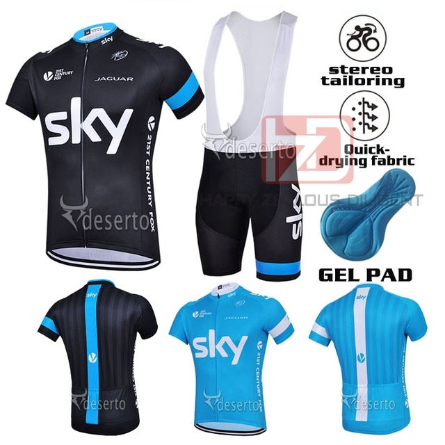 77f127080 2015 Brand Pro famous Cycling Jersey Ropa Ciclismo Breathable cycling  Clothing Quick Dry GEL Pad Mountain-Bike fox