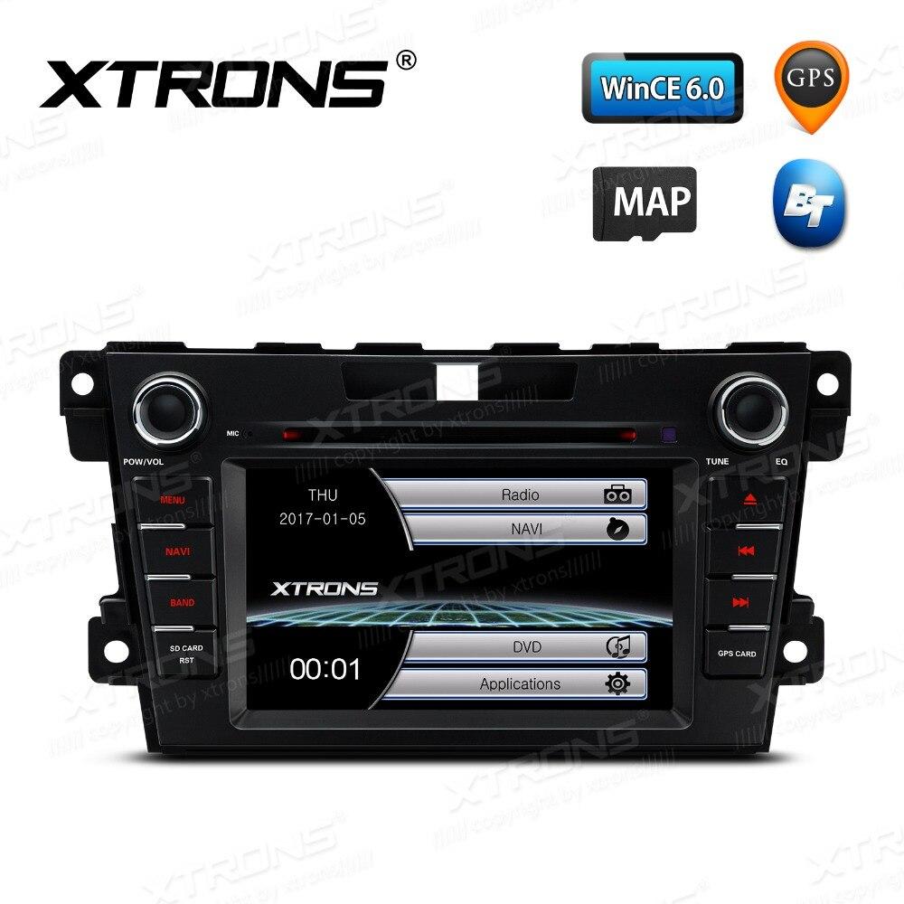 7 дюймов головное устройство с Радио сенсорный экран DVD плеер автомобиля gps Navigaton карты для Mazda CX 7 2007 2008 2009 2010 2011 2012