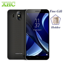 "HOMTOM S16 WCDMA 3G Smartphones RAM 2GB ROM 16GB 5.5"" Dual Back Cameras Fingerprint Android 7.0 Quad Core Dual SIM Cellphones"