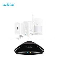 2015 новое поступление Broadlink S1 / S1C SmartOne сигнализация и комплект + RM про дом умный дом сигнализации мо Android пульт дистанционного управления