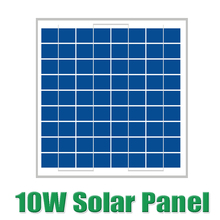 Hot Sale 10W 18V Polycrystalline silicon Solar Panel used for 12V PV solar cell module photovoltaic
