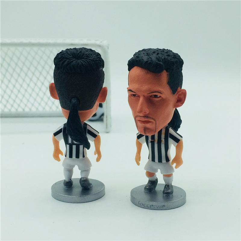 Soccer-Doll Figurine Black-Kit White Inches For Birthday-Gift-Collection 10--Baggio